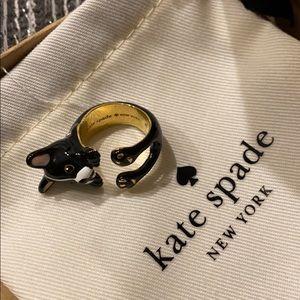 Kate spade dog ring